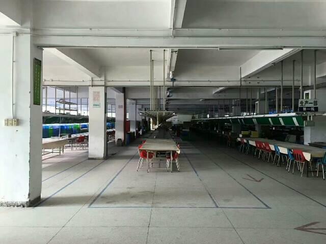 横岗荷坳地铁口附近楼上带装修2600平米厂房招租