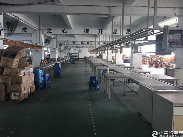 石岩北环楼上1200平带装修厂房招租-图2