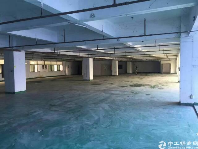 西乡宝安大道边楼上带装修厂房2300平米出租