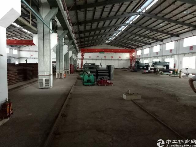 坑梓新出8米高钢构厂房1600平方,带5吨行车