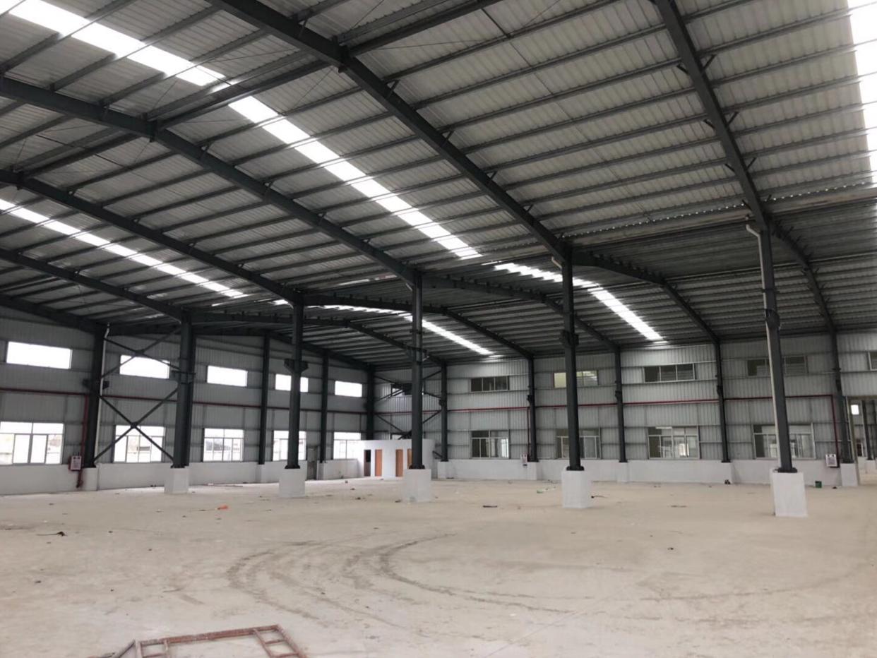 东莞新出独院单一层滴水10米带牛角全新厂房出租