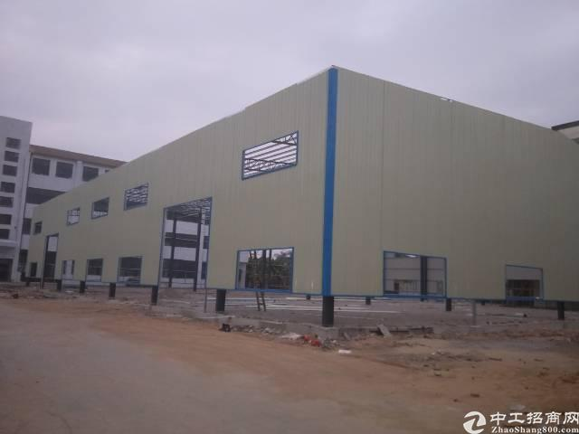 石排钢构厂房-图2