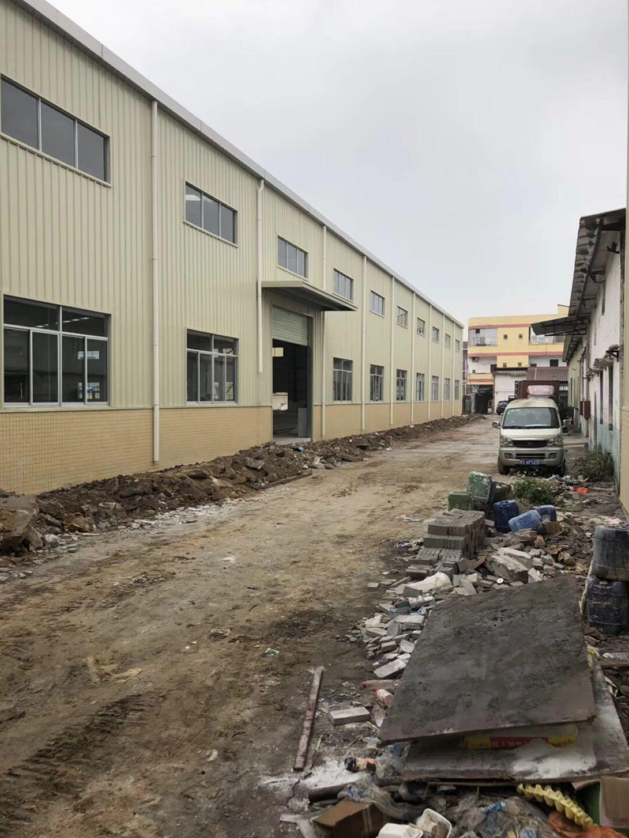 东莞新出独院单一层滴水10米带牛角全新厂房出租-图2