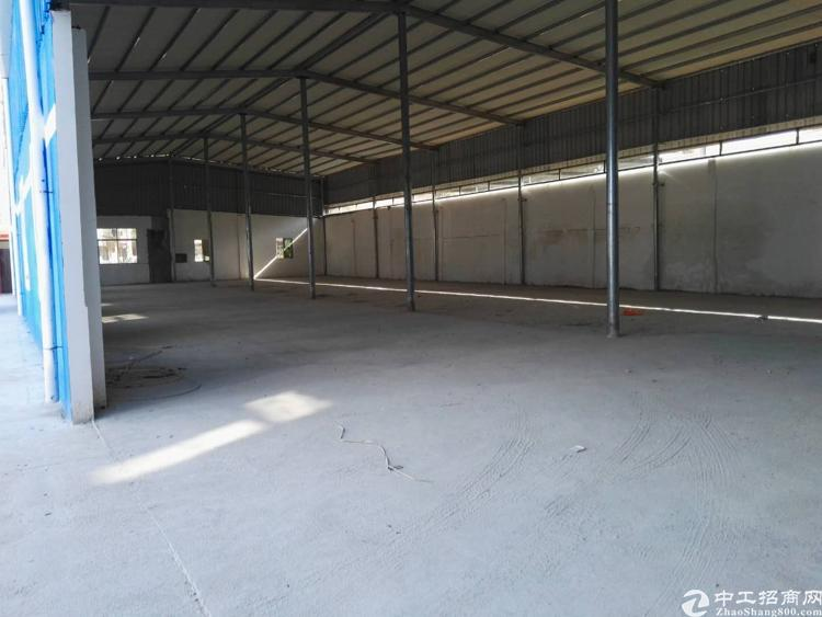新出全新原房东钢构厂房800平出租-图2