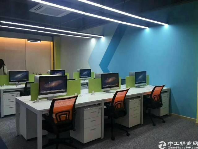 福永地铁口带装修写字楼80到1000平米出