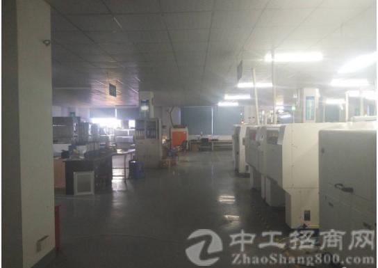 沙井东环路黄埔新出楼上1500平带装修厂房出租-图3