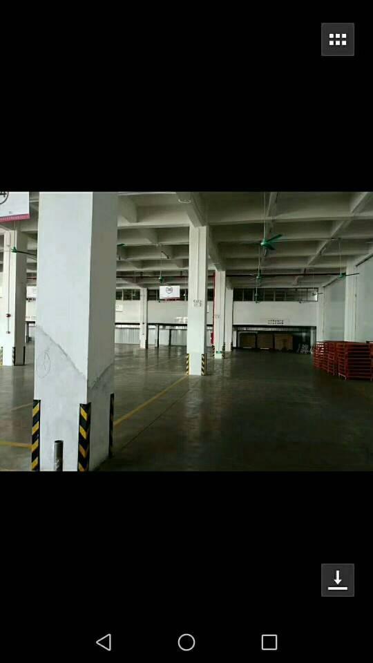 石碣标准厂房1-3层,每层3370一楼高5迷,2-3楼4米位