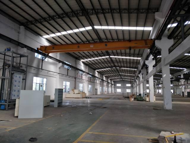 松岗独门独院钢构厂房招租15000平方,现场图片