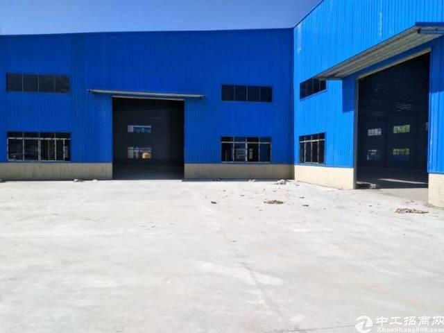 黄江靠常平全新独门独院钢结构单一层厂房招租,交通便利