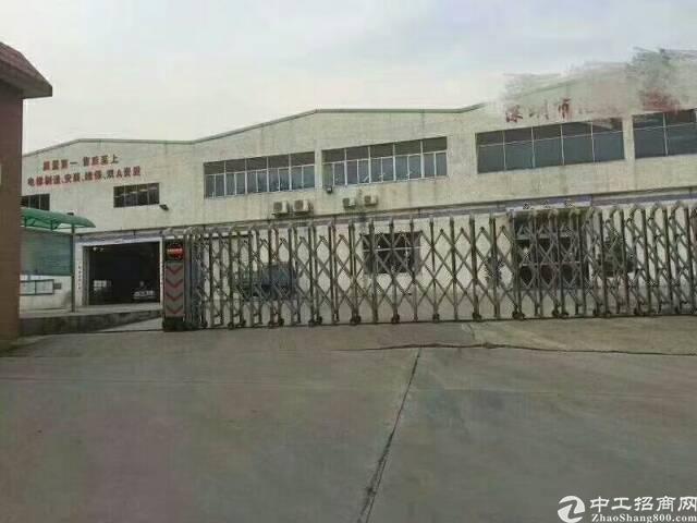 光明新区靠松岗12米高独院钢结构厂房15000平米招租