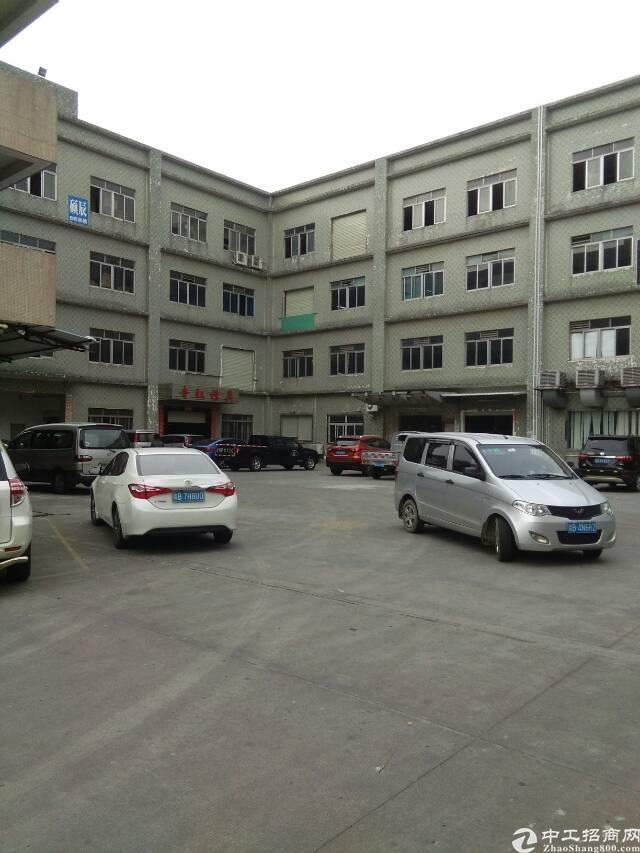 黄江镇合路村工业园厂房新空出480平米一楼厂房出租