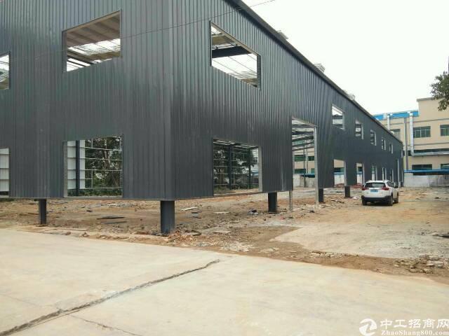 独门独院单一层钢构厂房2500平方报价15元大马路边招租-图2