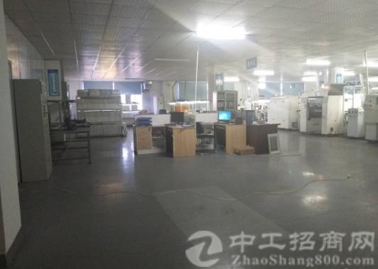 沙井东环路黄埔新出楼上1500平带装修厂房出租-图4