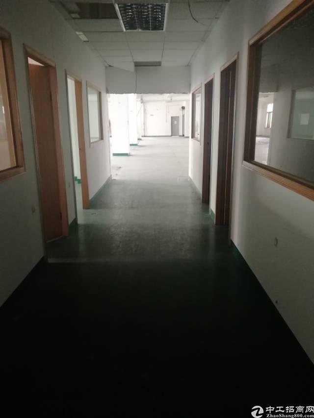 龙华大浪浪口工业区楼上4580平出租可分租