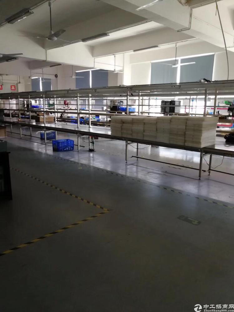 横岗六约地铁站独院二楼带装修800平米厂房出租