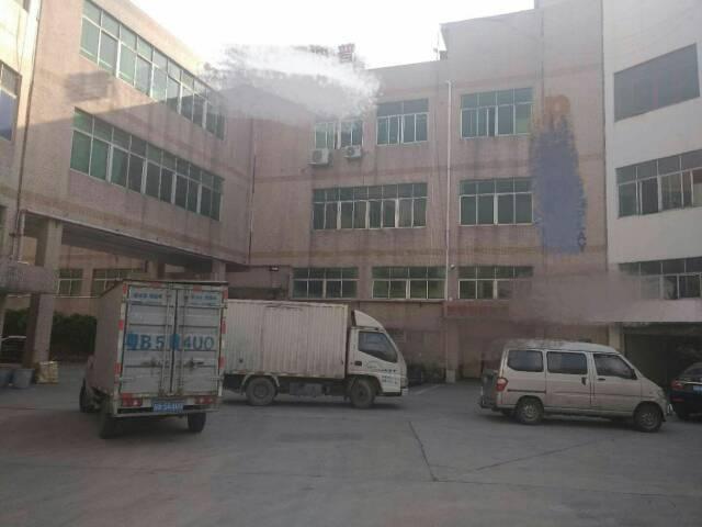 沙井黄埔国道旁新出独栋三层4500平方带装修出租