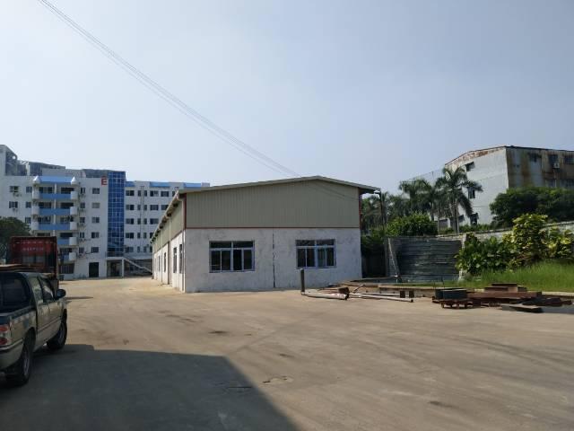 长安镇1000平钢构厂房出租可做污染