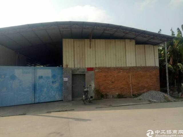 高埗镇原小面积独门独院铁皮厂房出租