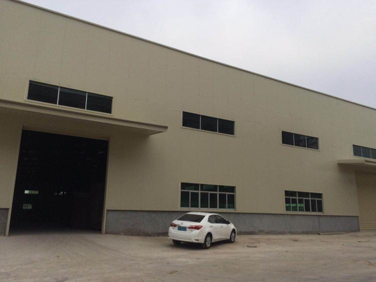 独院 全新钢构2栋厂房16000平方