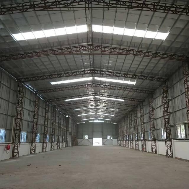 高埗镇工业区单一层铁皮房1500平 租金15