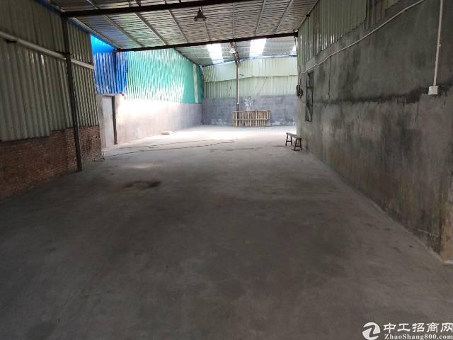 大岭山杨屋村单一层铁皮房500平方出租