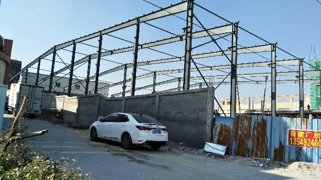 大马路旁边新建钢构厂房5000平方报价13元原房东出租