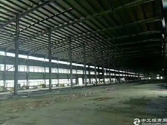 惠州 大亚湾60000平方滴水10米单一层钢构出租,空地超大