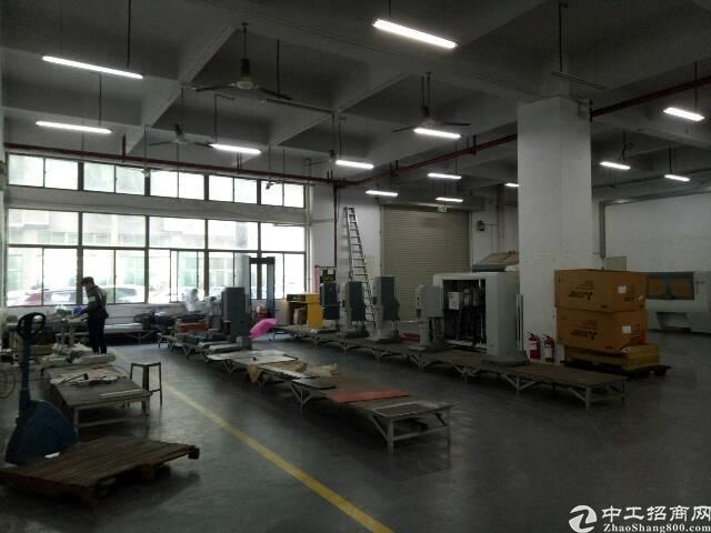 龙华大浪商业中心附近工业区,一楼分租
