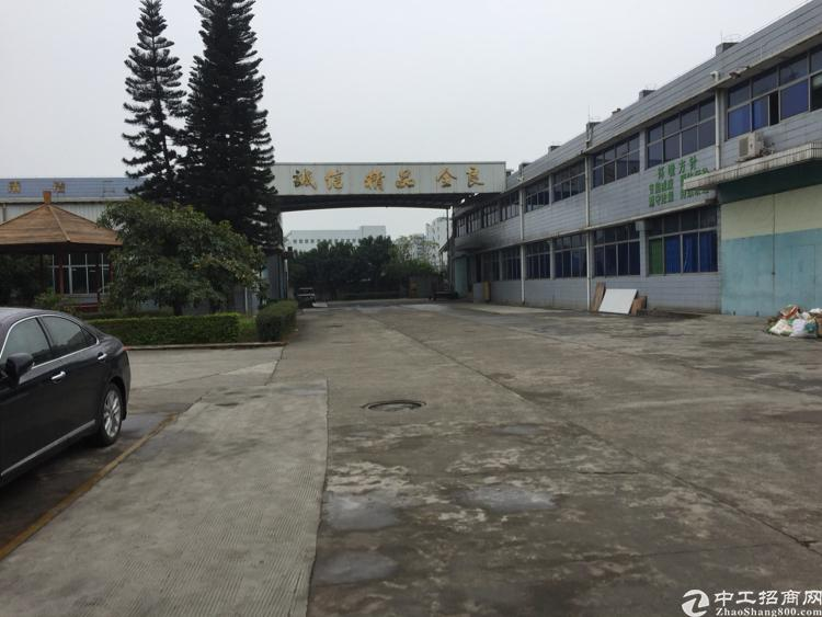 虎门原房东滴水9米的标准单一层厂房出租