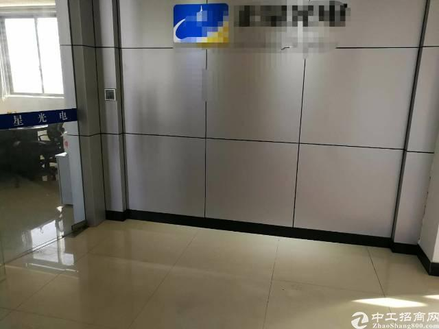福永桥头地铁站边楼上800平米精装修厂房出租