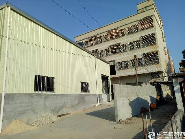 清溪车站附近独栋标准厂房4层1600㎡低价出租(可分租)