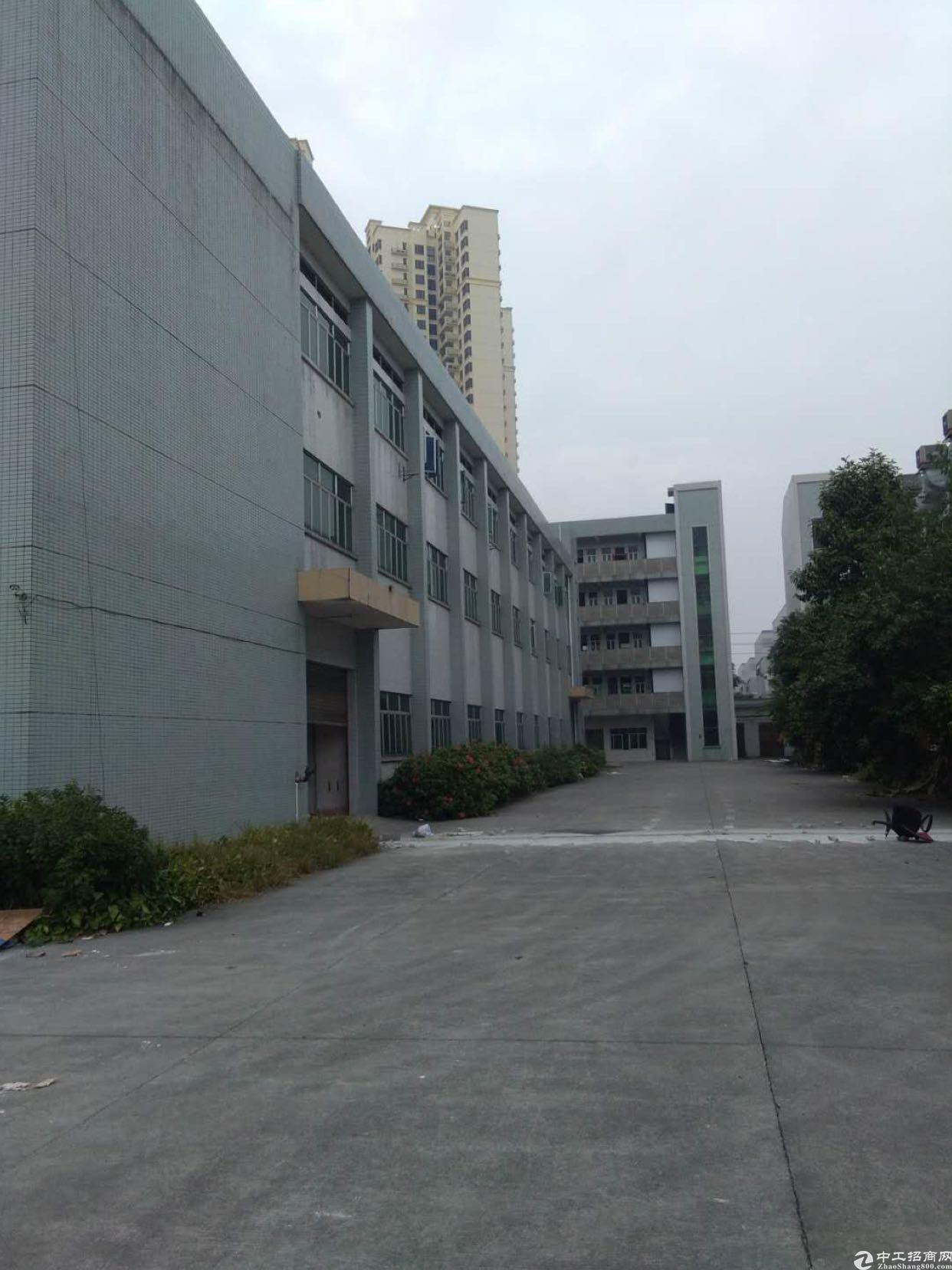 横沥镇新出独院三层标准厂房4500平米出租