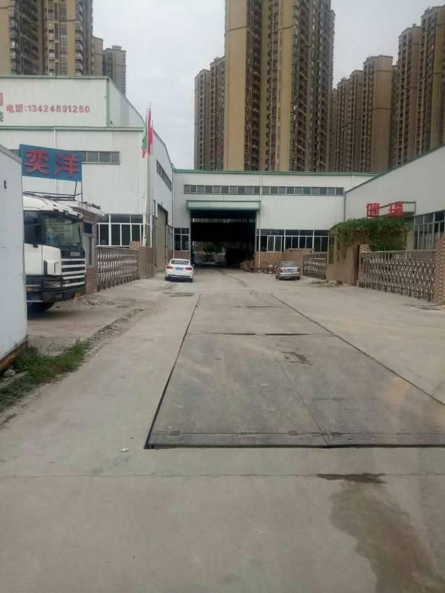 沙角10米高钢构厂房3500方出租