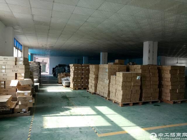 高速出口楼上1400平带装修厂房招租-图4