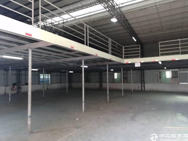 东莞市寮步镇新出钢结构厂房出租