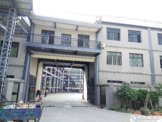 虎门独院单一层钢结构12米高,8000平米原房东招租