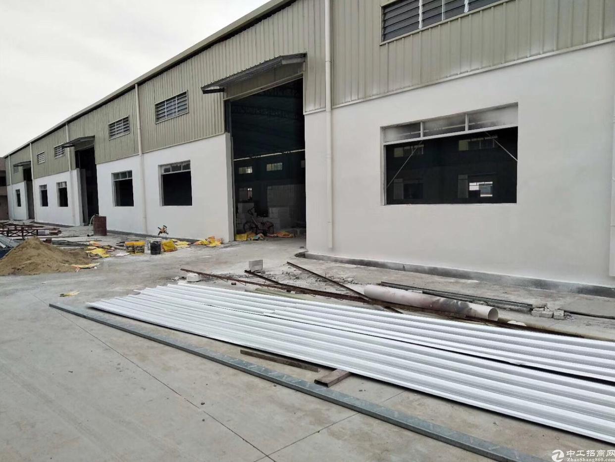万江港口大道边全新单一层3300平米,宿舍办公两层500平米