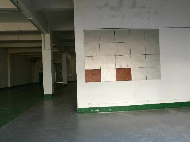 松岗燕川高新园区新出一楼6米髙厂房680平方带装修出租