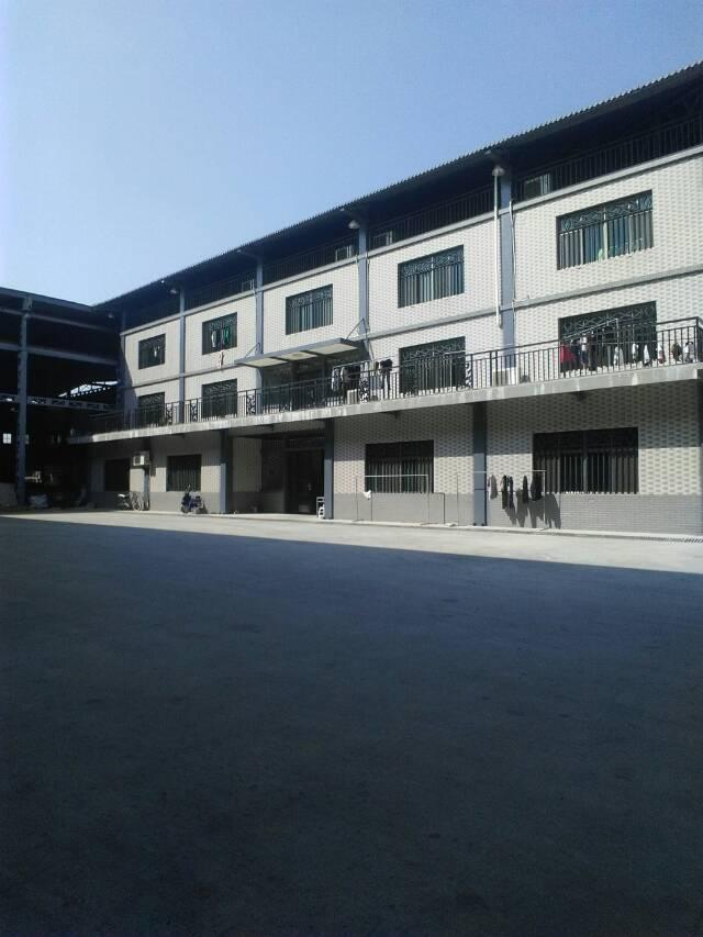虎门赤岗单一层12米高厂房招租面积5500平租12元电400