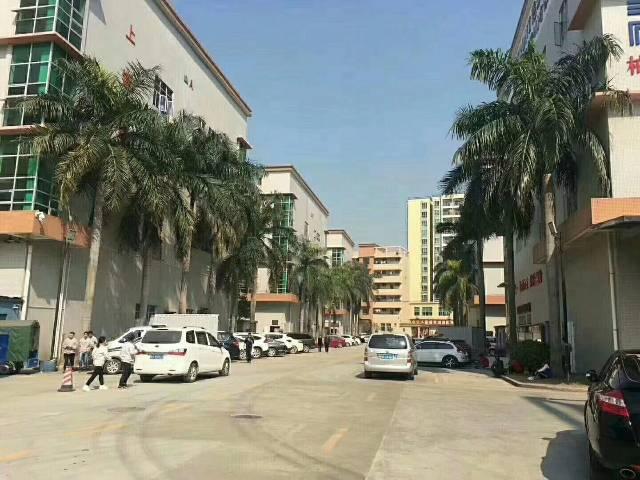 沙井107国道边原房东厂房整层2500平米出租