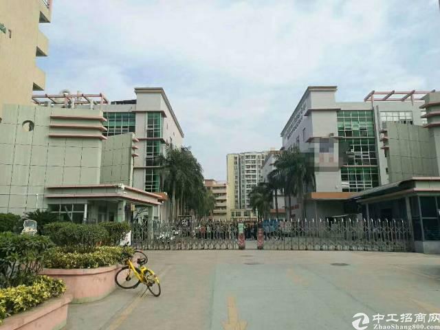 沙井新区上南东环路边上大型工业园,新出楼上2450平方,原房