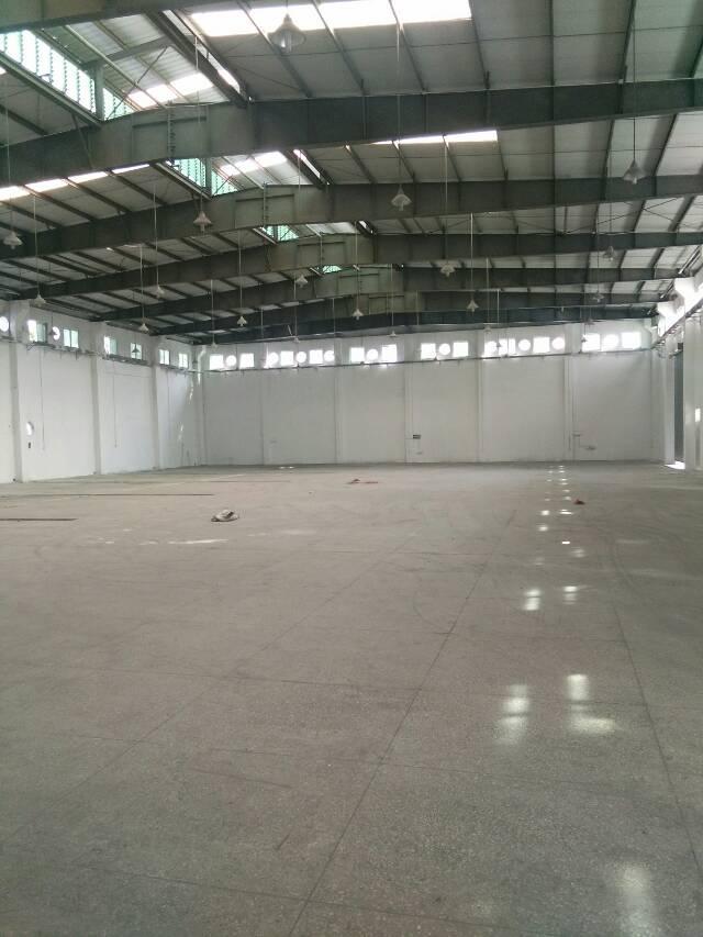 黄江靠公明主干道旁新出400平米钢构厂房出租