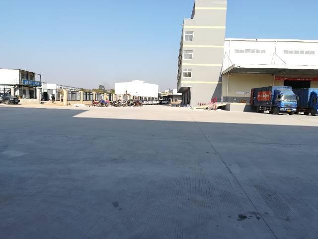 标准物流卸货平台仓
