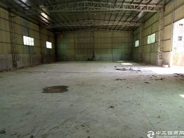 企石全新低价钢构厂房招租