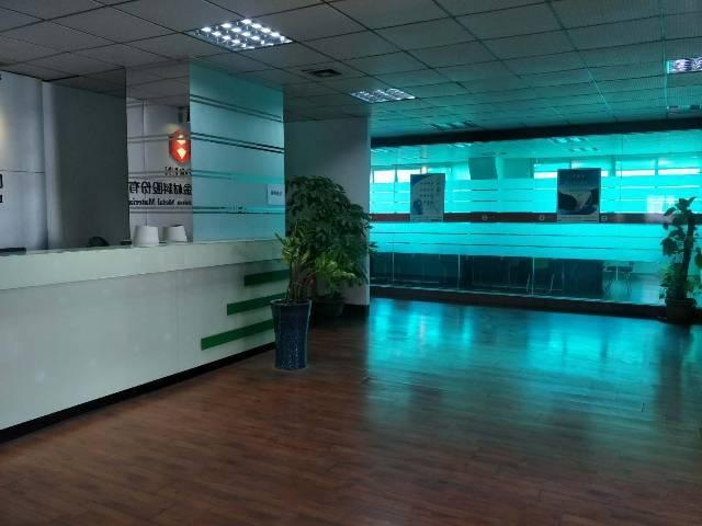 大岭山大唐新出工业园厂房2楼带办公室装修带消防喷淋