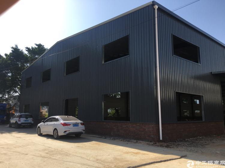 新建单一层滴水9米高厂房2500平方,电250,可做任何行业