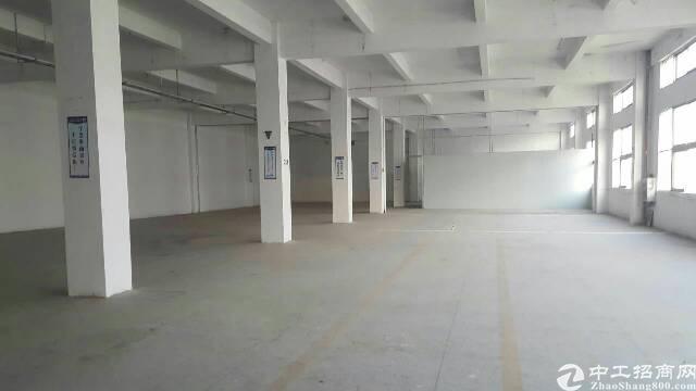 大岭山新出标准厂房三楼1100平方,现成办公室装修-图5