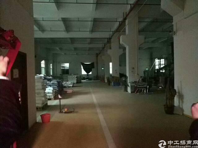 厚街镇嘉华酒店附近新出标准厂房一楼高度7米厂房1300平方米