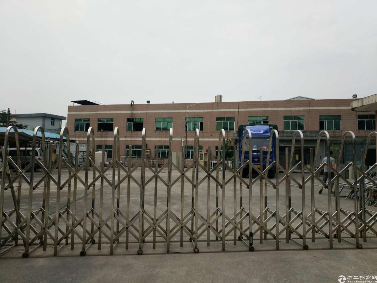 东莞市企石镇新出独院两层厂房出租,空地超大