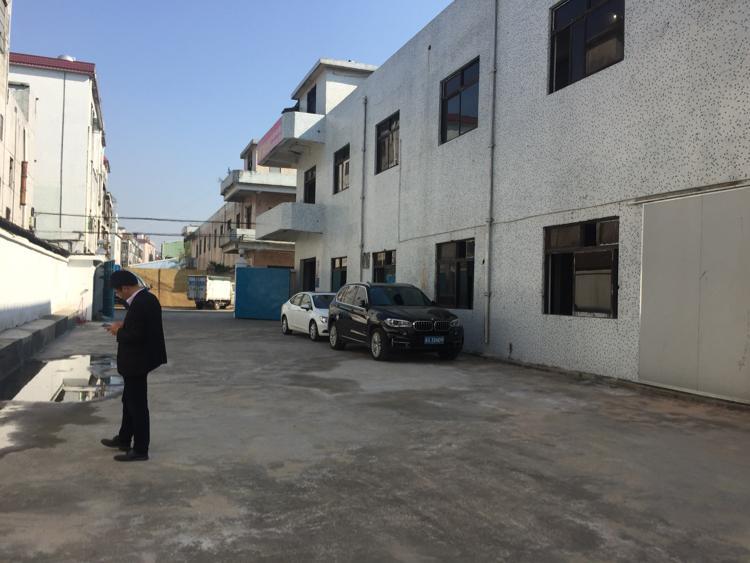 大岭山两层独院厂房招租
